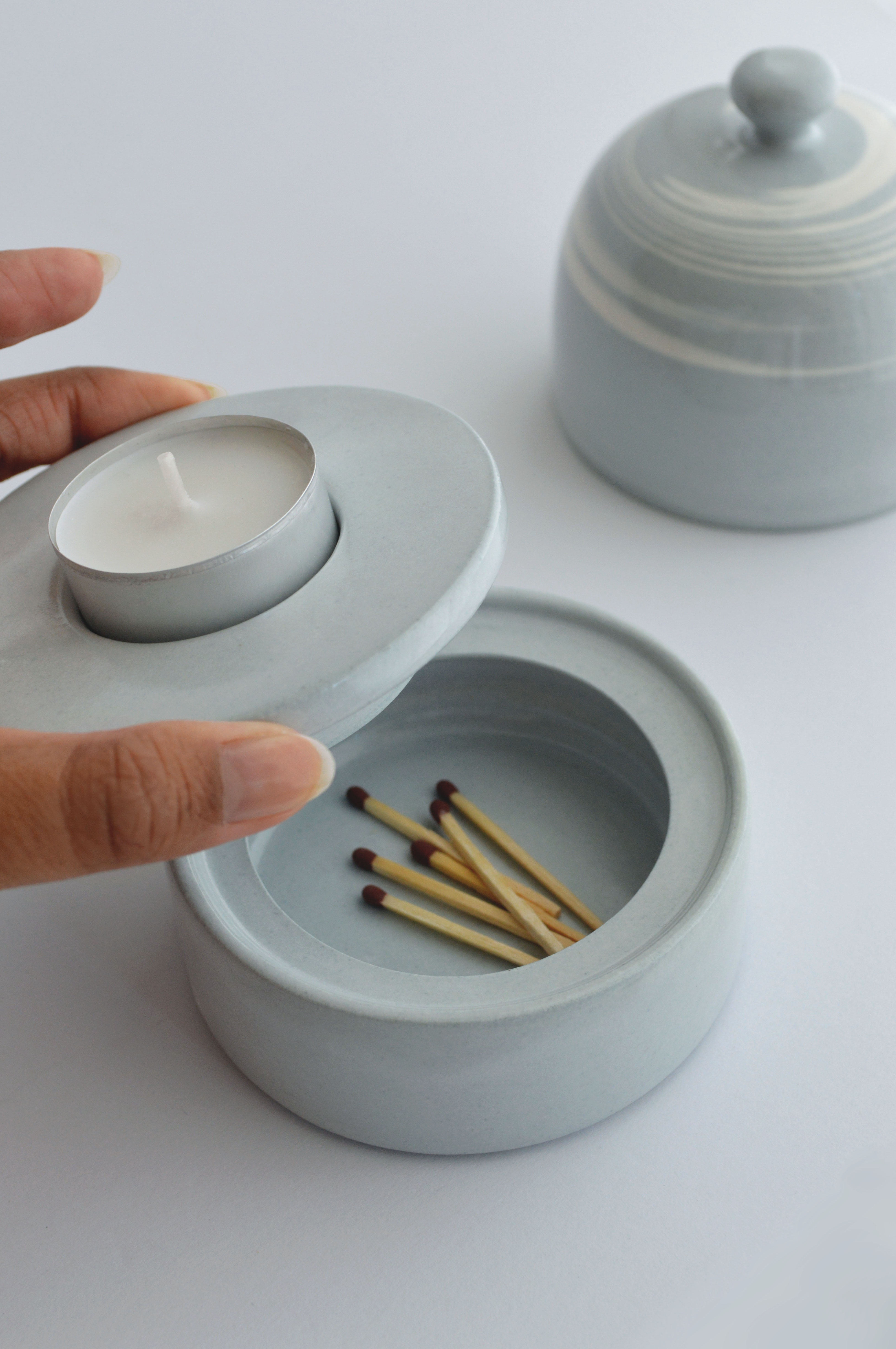 Amanda Perumal_Ceramic Candleholder 3